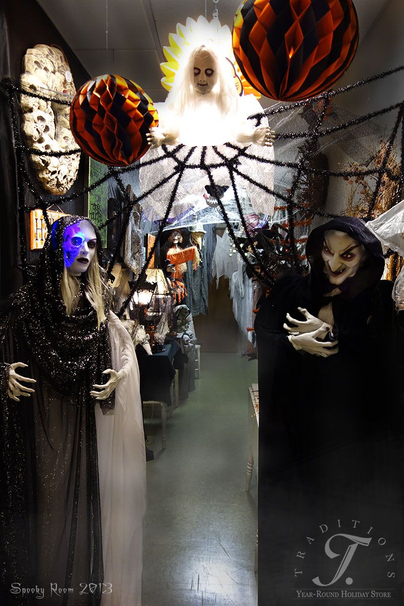 The entry to our 2013 Spooky Room!! Halloween