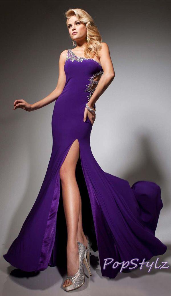 Tony Bowls Lovely Purple Gown   Dresses Dresses Dresses   Pinterest ...