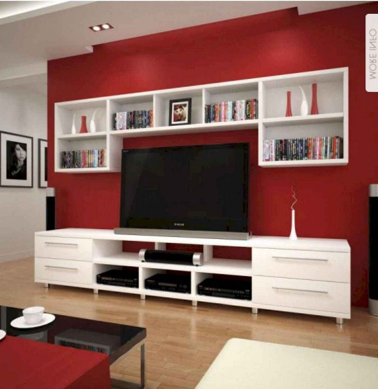 59 Best Tv Wall Living Room Ideas Decor On A Budget Page 50 Of 60 Living Room Stands Living Room Tv Wall Trendy Living Rooms