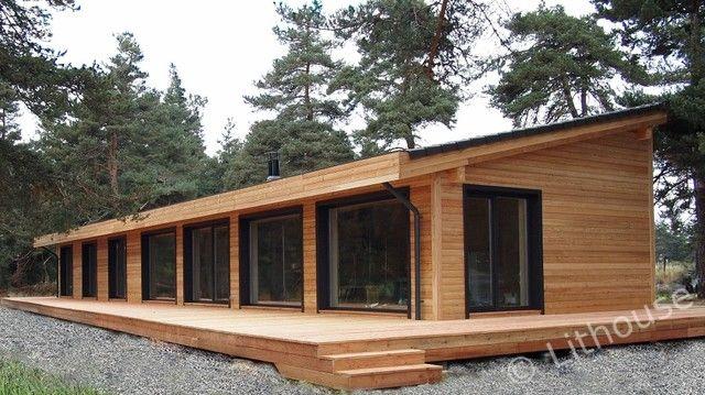 Flo Eric House Modern Extremely Well Insulated Eco Friendly Wooden Houses Houten Huizen Houten Huis Huizen