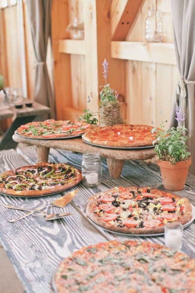 Pizza Wedding Food Ideas Real Simple I Take You Wedding