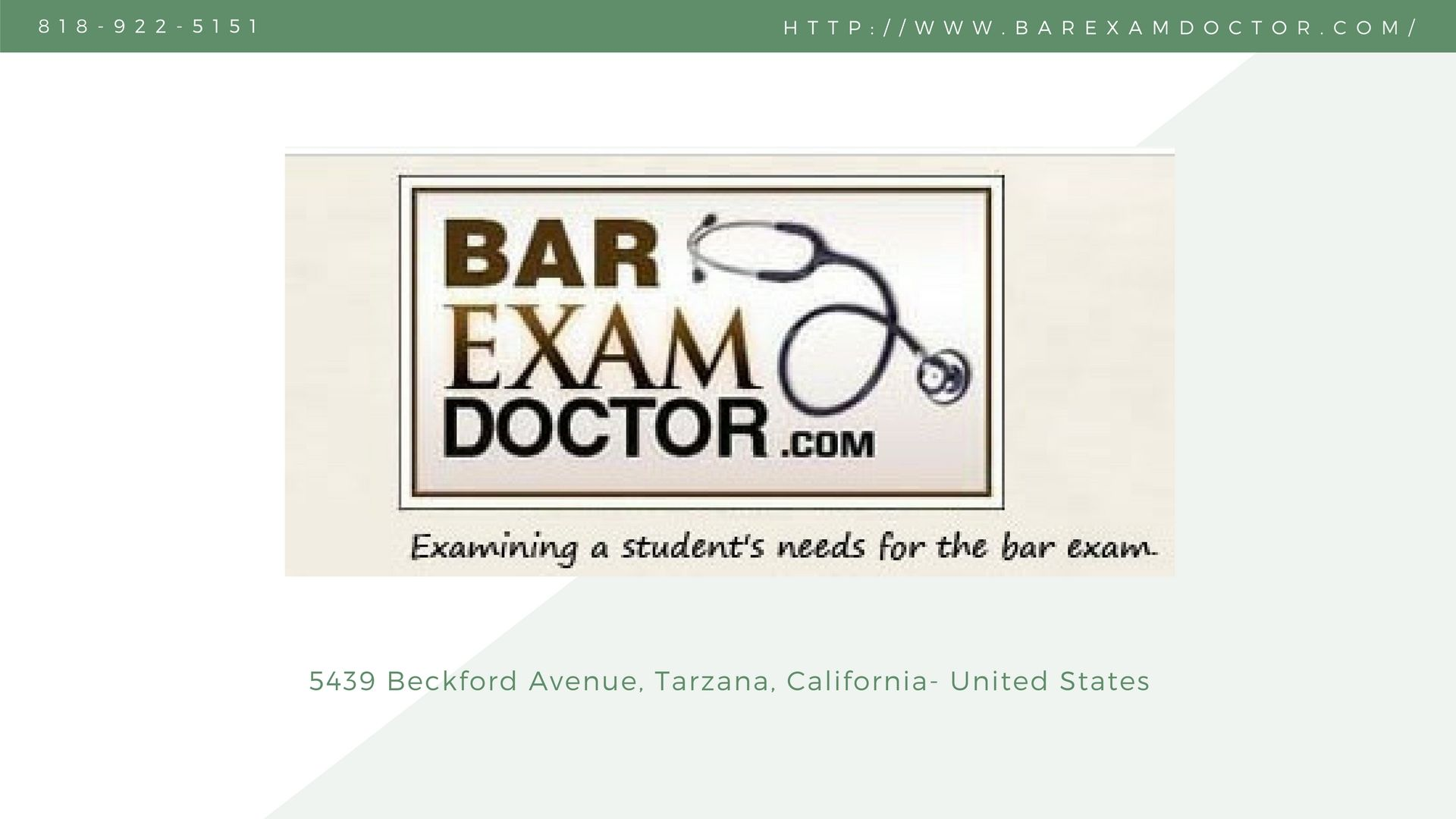Stress-free preparations of California bar exam with the