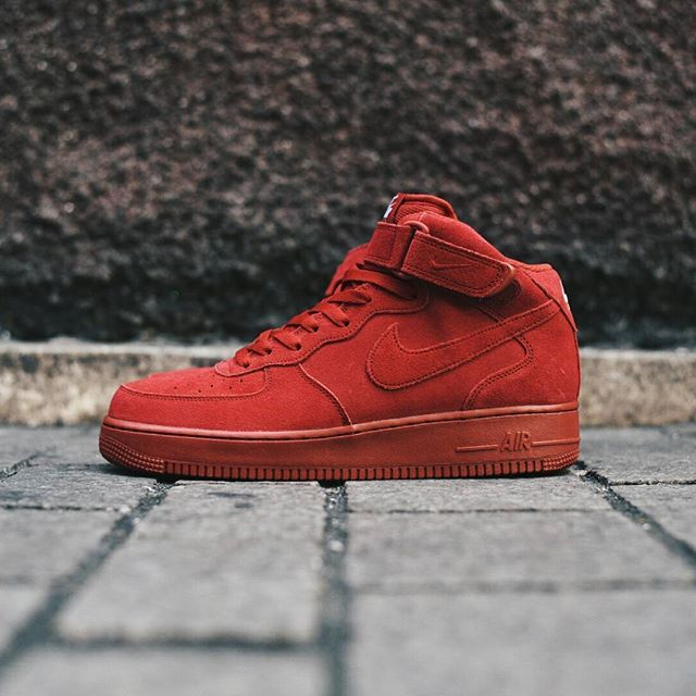 Nike Air Force 1 Mid  07  Gym Red  51307a7534