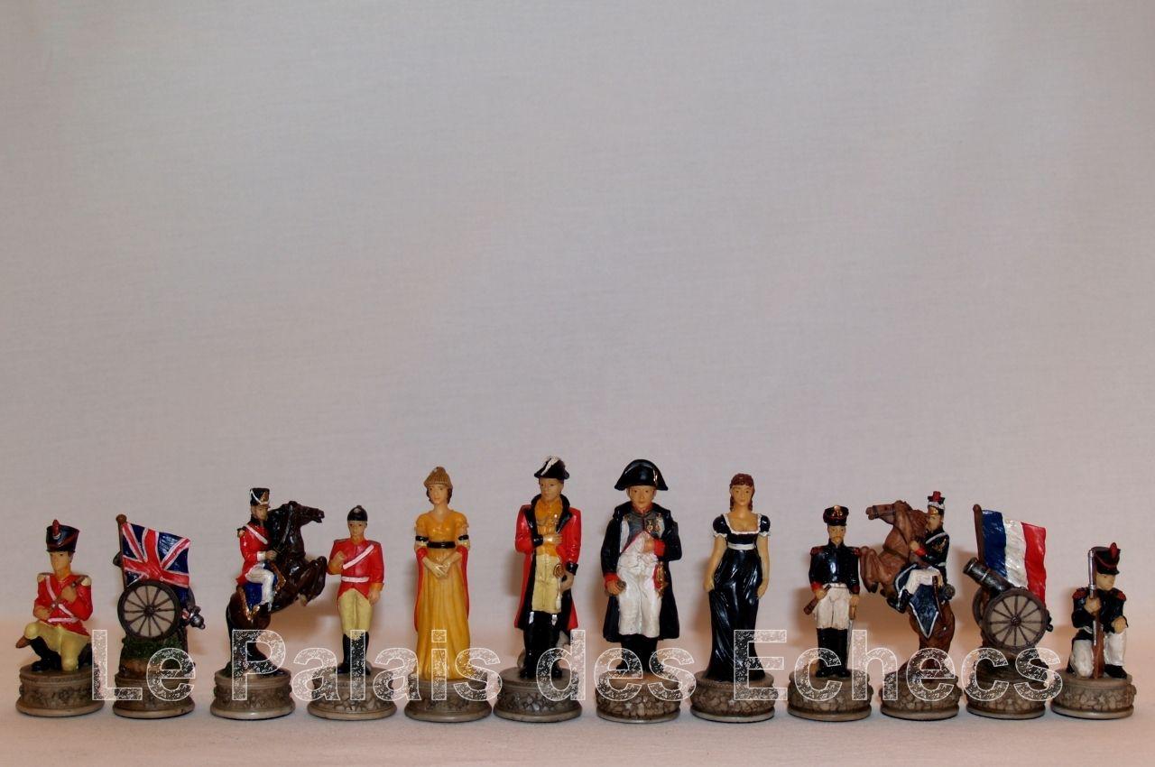 Jeu d'échecs - jeu d'échecs Bataille de Waterloo