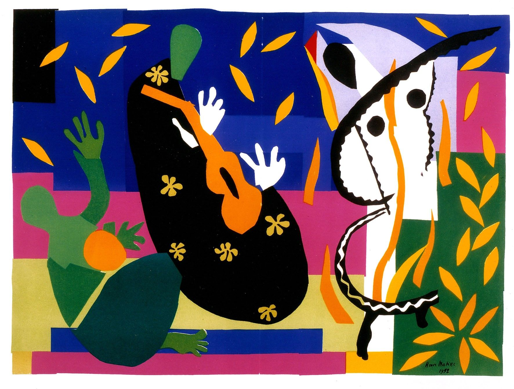 Fabuleux henri matisse collages - Google Search | collage cut-out stencil  DQ51