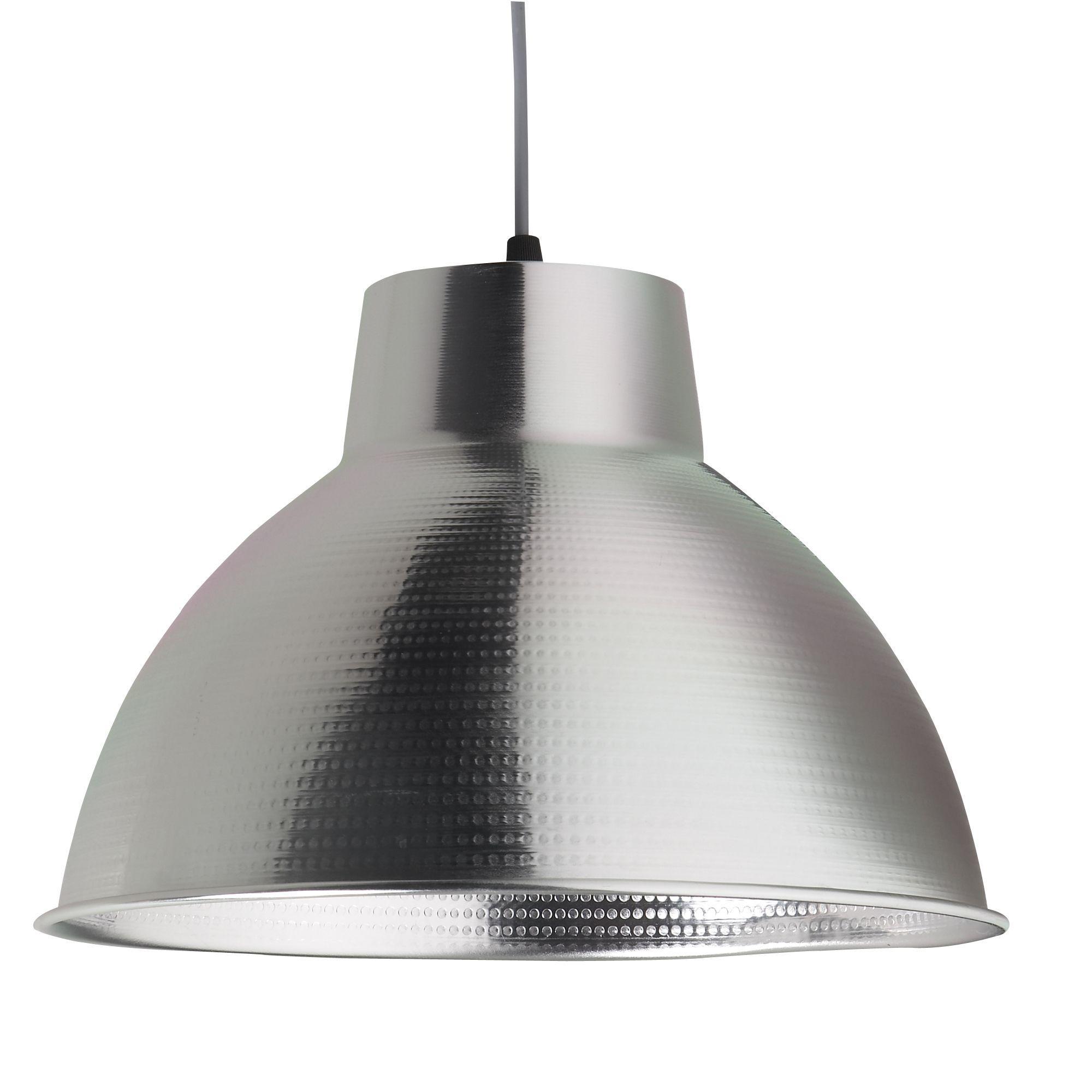 suspension en m tal gris box luminaire les suspensions. Black Bedroom Furniture Sets. Home Design Ideas