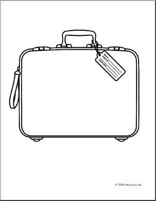 Coloring Pages Of Suitcase Google Search Travel Theme Classroom