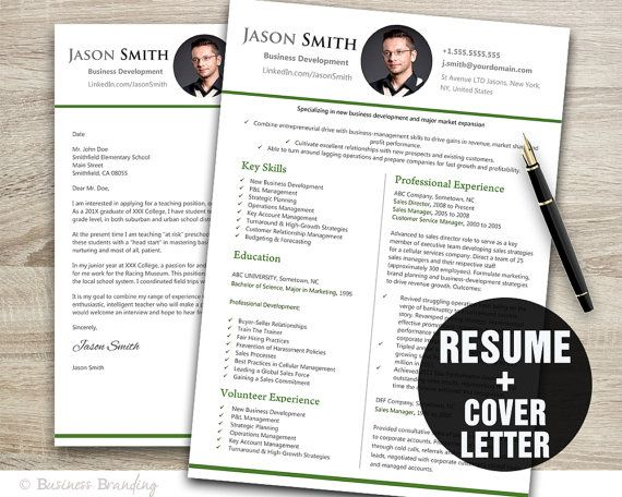 Resume Template Word Resume TemplateCV by BusinessBranding on Etsy - resume or word
