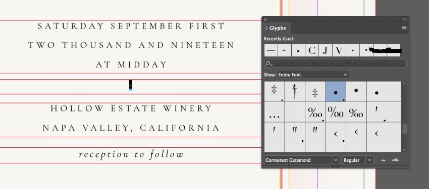 How To Create A Wedding Invitation In Indesign Free Template Included Indesign Free Wedding Invitations Template Free