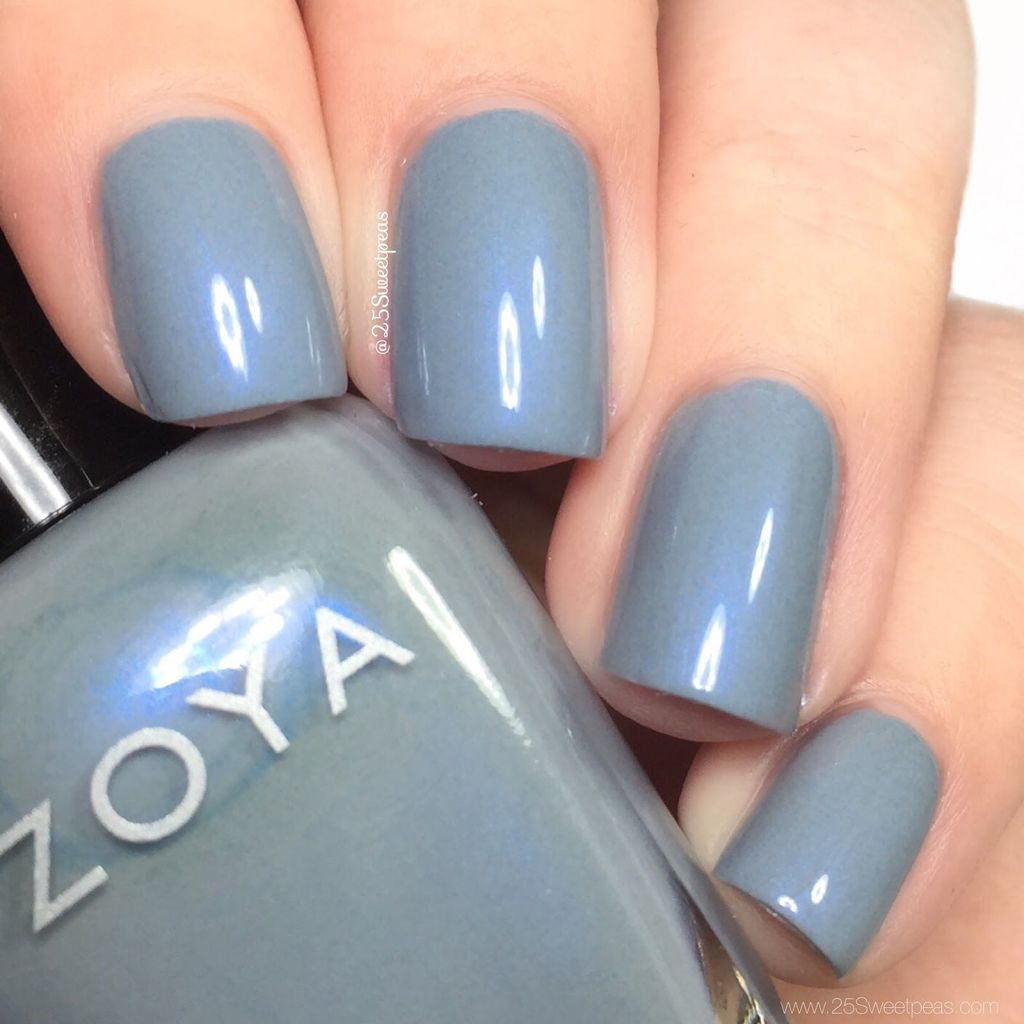 Dove Gray Nail Polish: 42 Popular Nail Color Ideas For Spring Trend 2018