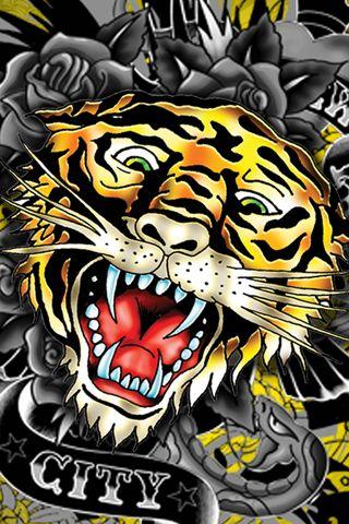 Tiger by ed hardy ed hardy ed hardy tattoos ed hardy - Ed hardy designs wallpaper ...