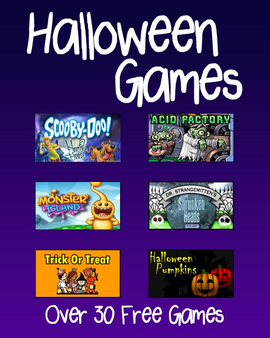 Halloween Games Halloween games, Online games for kids