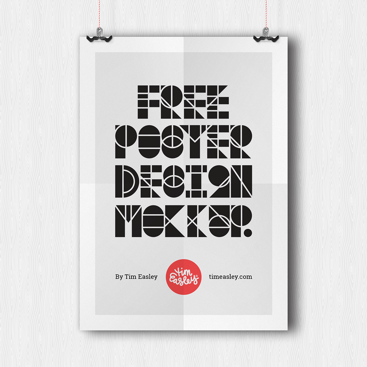 Poster design behance - Free Poster Design Mockup On Behance