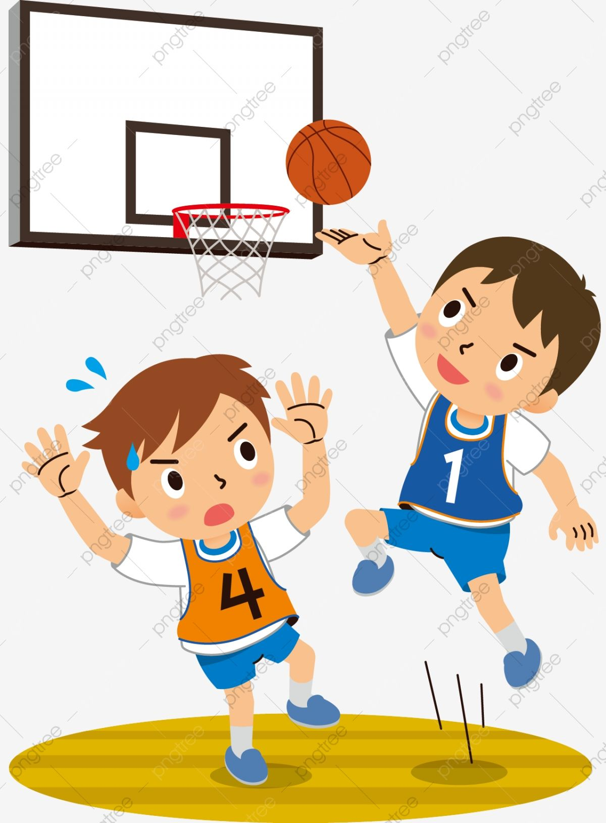 Hand Drawn Cartoon Teenager Playing Basketball Childrens Day Motion Play Basketball School Children Clipart Jump Cute Cartoon Png And Vector With Transparent How To Draw Hands Cartoon Clip Art Cartoon