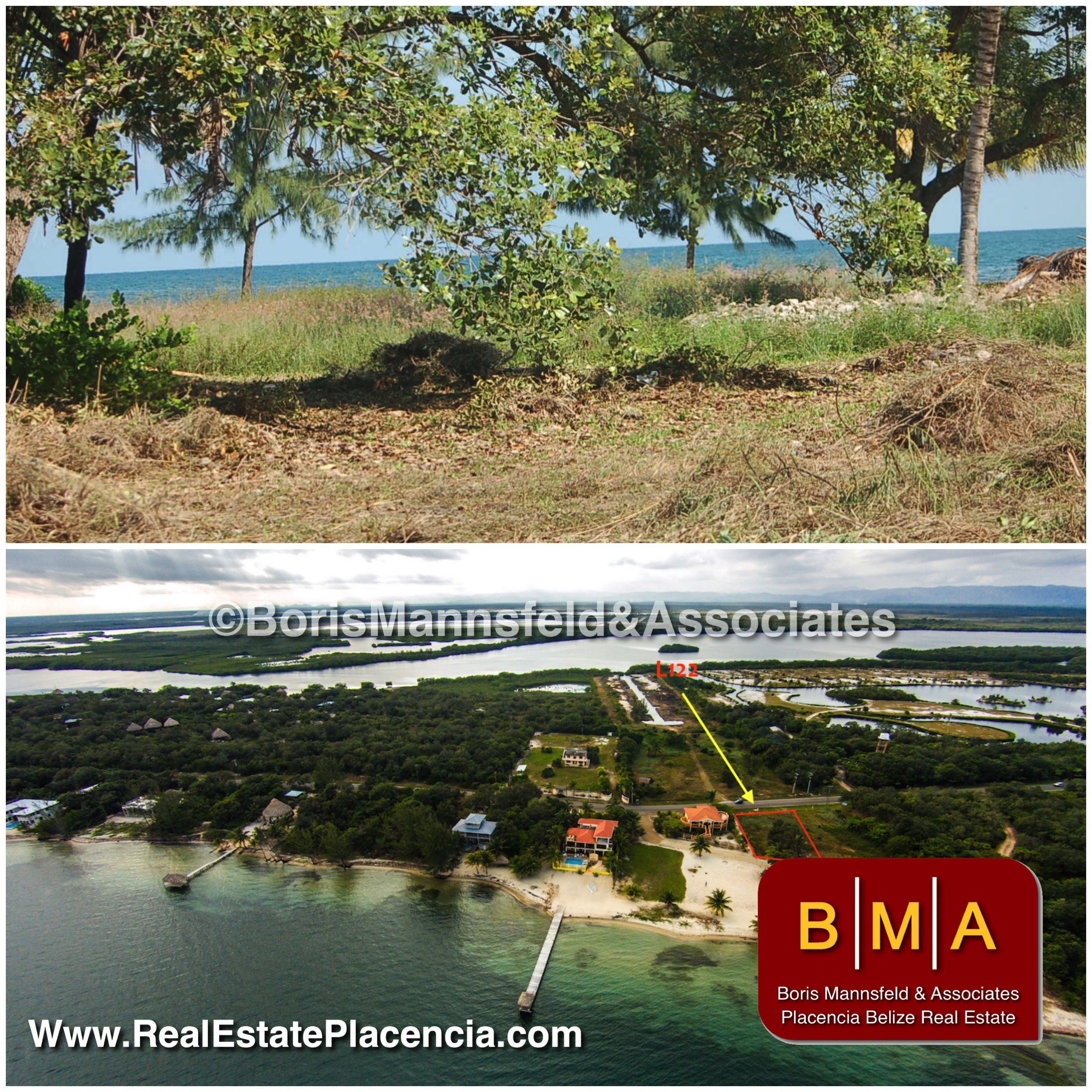 Single family lot in ideal location in Placencia Belize