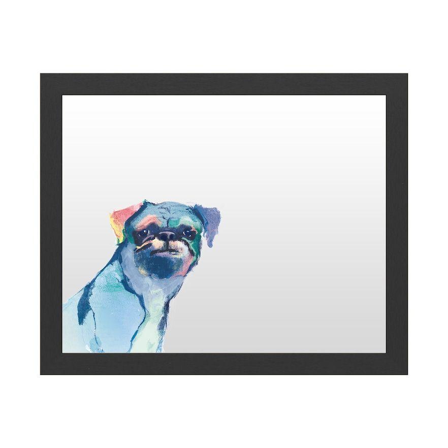 Trademark Fine Art 'Snug Watercolor' Dry Erase Board