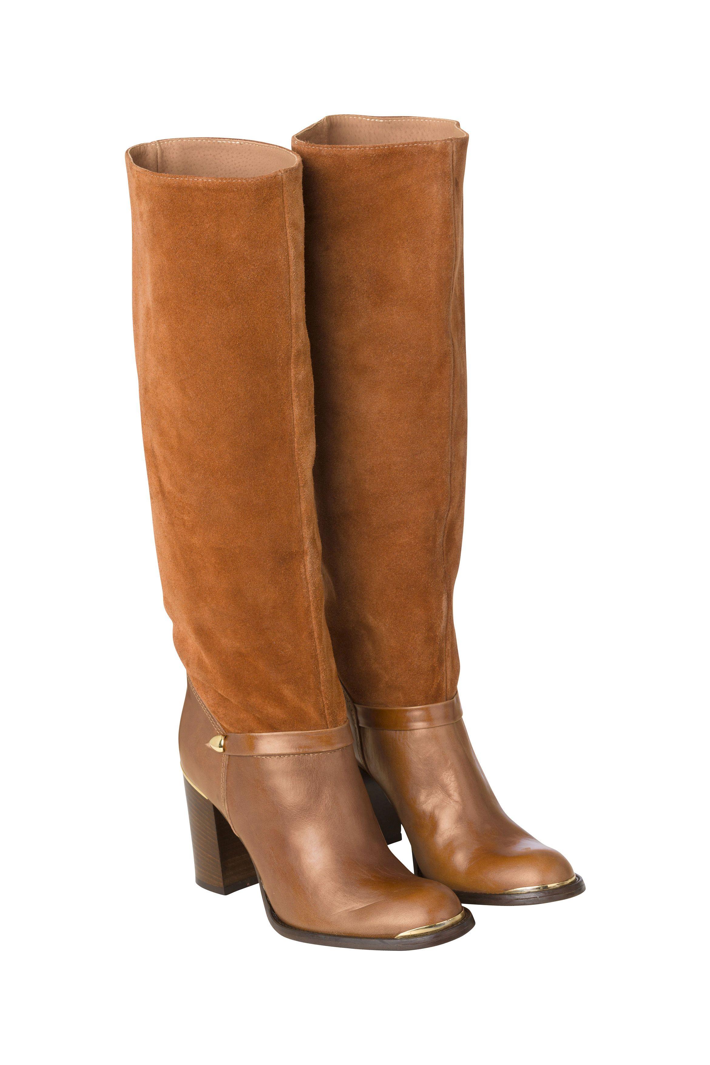 Ganni Thea Leather Boots Ganni Fall Winter 2015