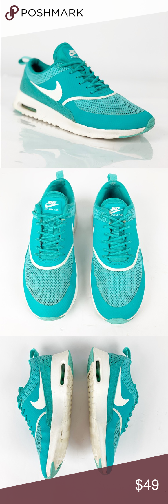 Nike Air Max Thea, Turquoise, Women's Fashion, Shoes on