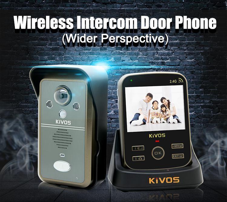 Wireless Door Video Intercom 1V1 Door Camera Sonnette Video ...