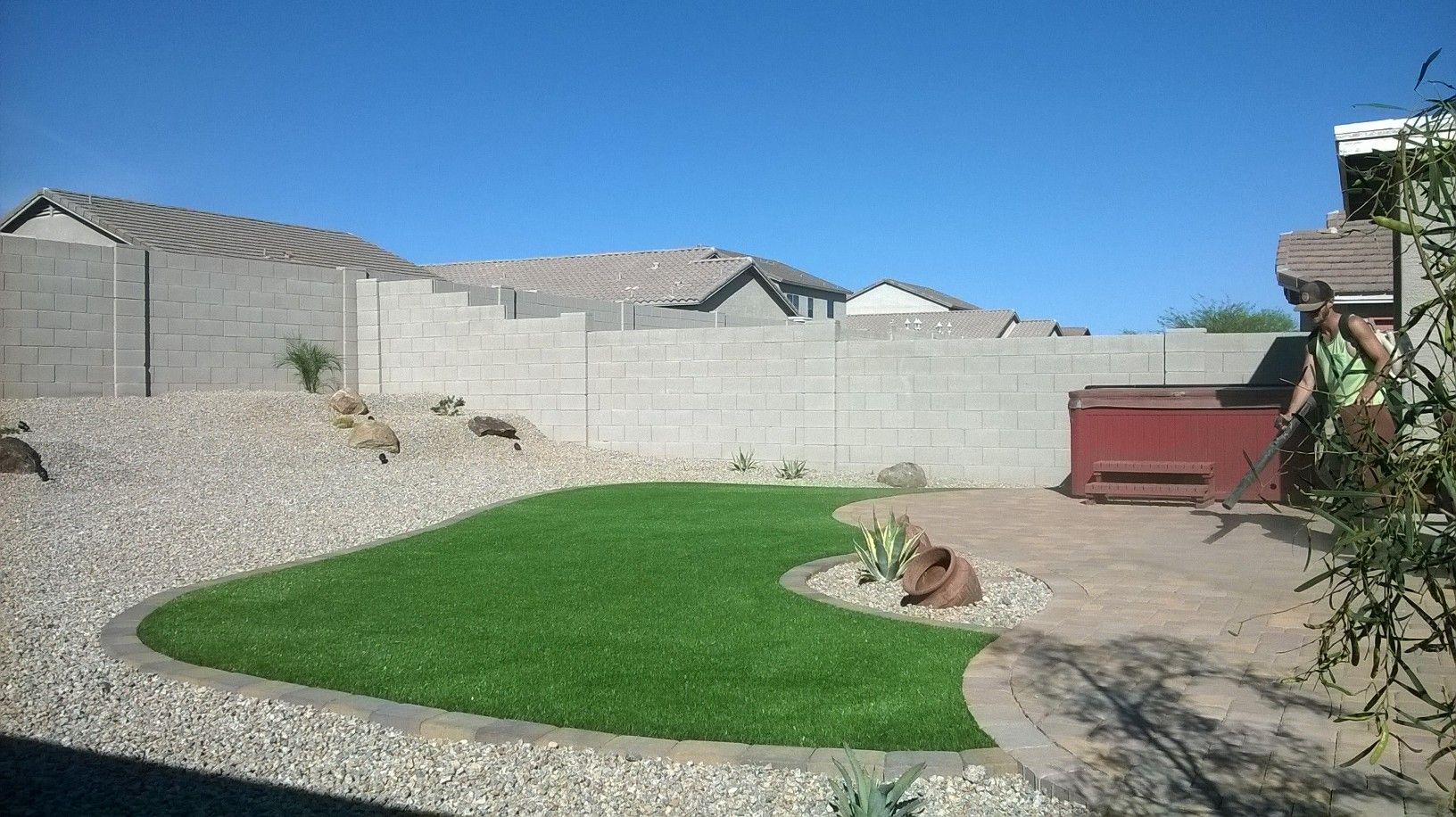 Arizona Cost Effective Backyard Designs No Grass Google Search