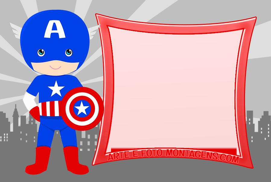Convite Capitão America Para Imprimir Pesquisa Google Capitão