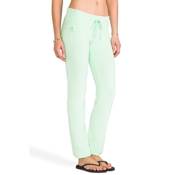 WildFox sweatpants brand new! So comfortable! I have two pairs brand new in sea foam green! Note these sweats do not have an elastic ankle. Wildfox Pants Straight Leg