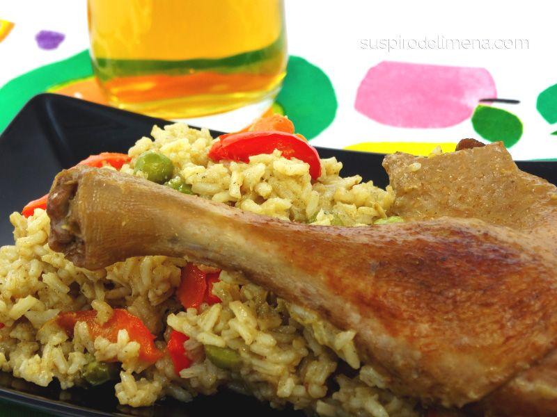 Receta de arroz con pato a la cerveza negra