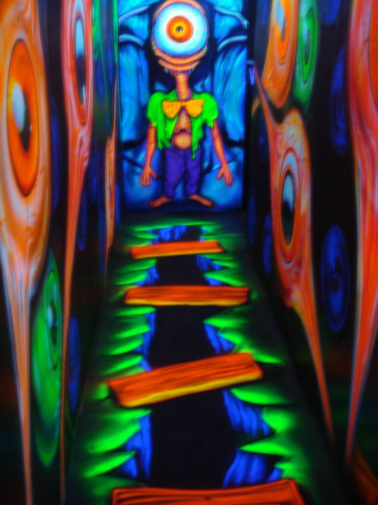 The Floor Black Light Halloween Www