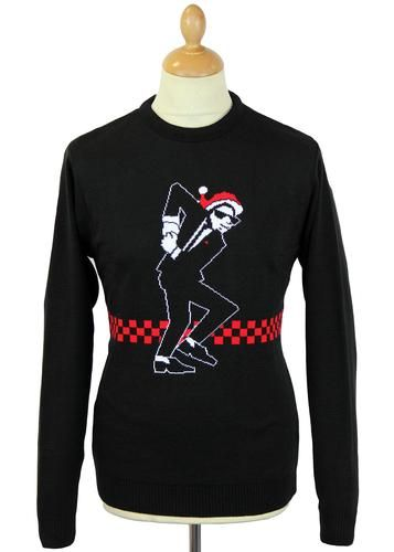 7781ef5bda650 Have Yourself A Skanking Little Christmas Jumper Indie Outfits, Retro  Outfits, Vintage Outfits,