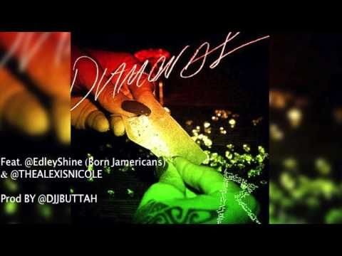 Rihanna Diamonds Refix By Dj J Buttah Edley Shine Ft Alexis Nicole Rihanna Diamonds Rihanna Song Kanye West Diamonds