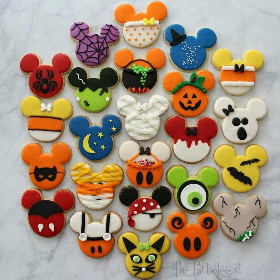 Mickey Mouse Disney Halloween Cookies   Galletas, bululubus y ...