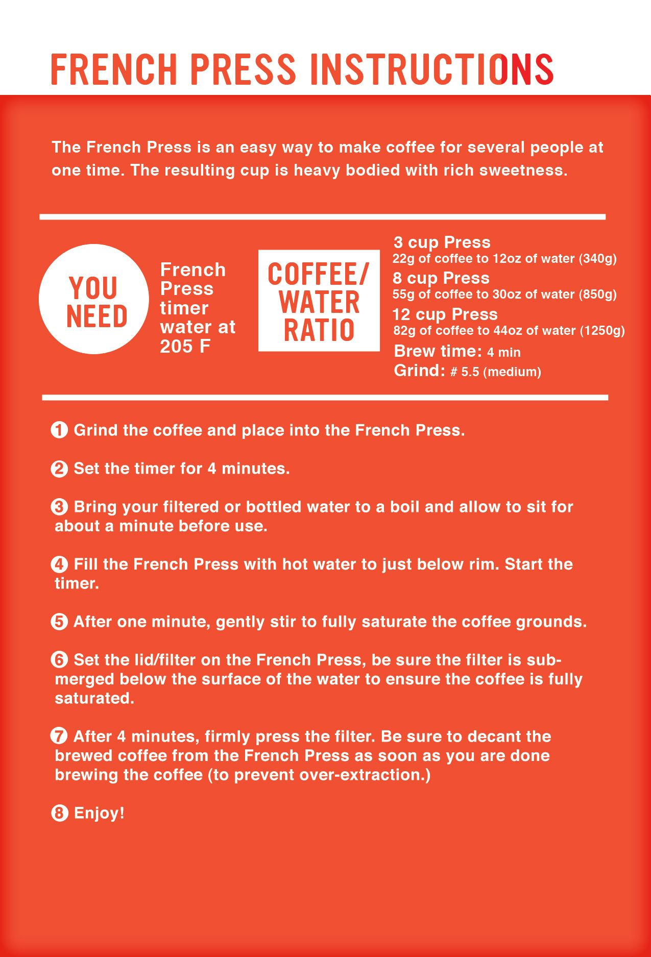 how to make strong espresso in a french press