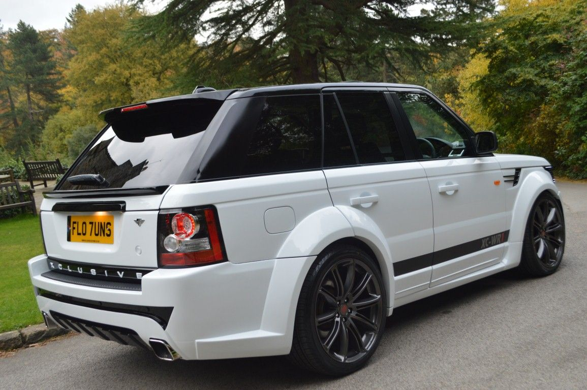 range rover sport xclusive wide body kit brilliance in. Black Bedroom Furniture Sets. Home Design Ideas
