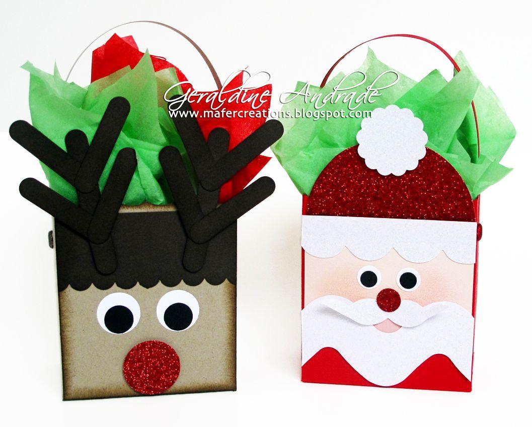 Mafer's Creations: SANTA & RUDOLPH  http://mafercreations.blogspot.com/2012/10/santa-y-el-reno-rudolph.html