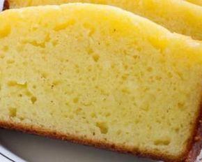 Gâteau au yaourt allégé vanillé sans huile | Recette ...