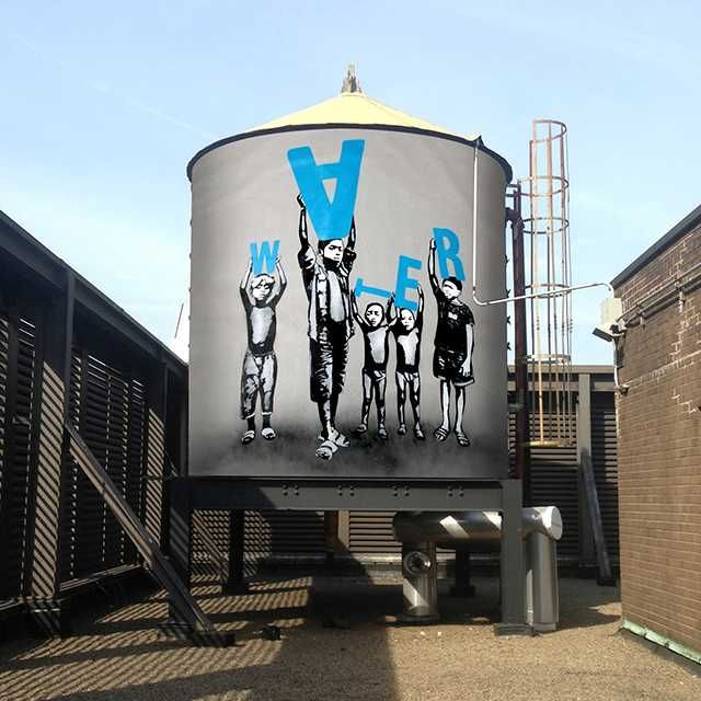 H2O Yeah! The Water Tank Project Makes NYC Cooler | WebUrbanist
