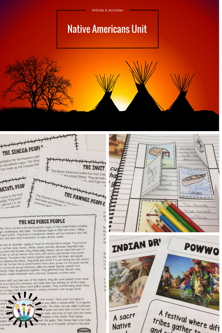 Native American Themed Activities for Kids