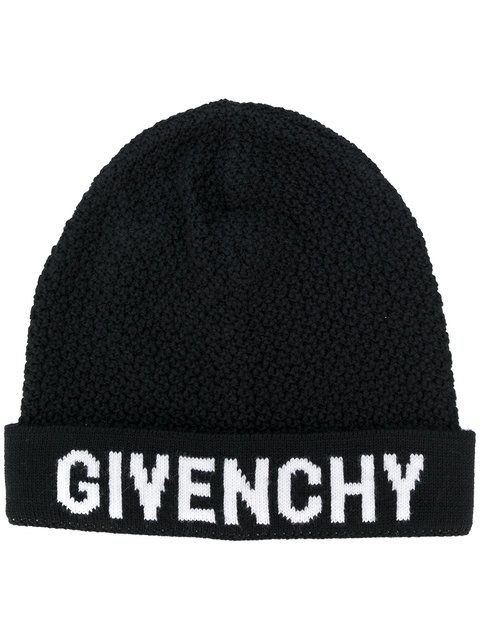 4b5f78da454 GIVENCHY logo knit beanie.  givenchy  beanie