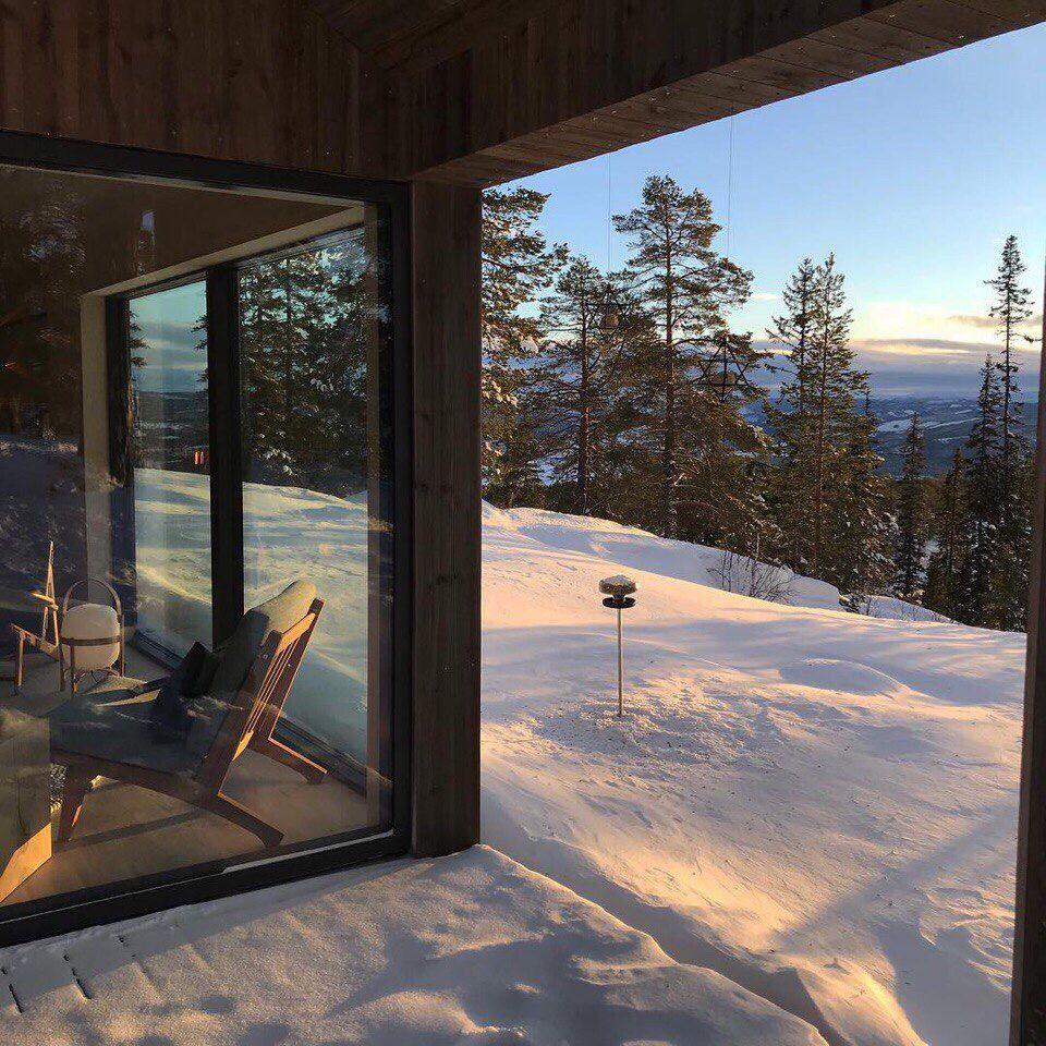 норвегия фото из окна или с балкона