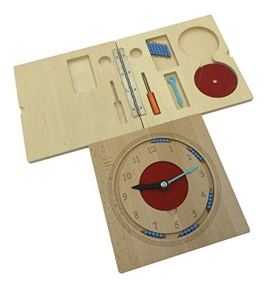 Amazon.com: Kid Advance Montessori Teaching Clock: Toys ...