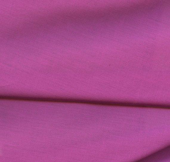 Fushia Cotton Voile Fabric