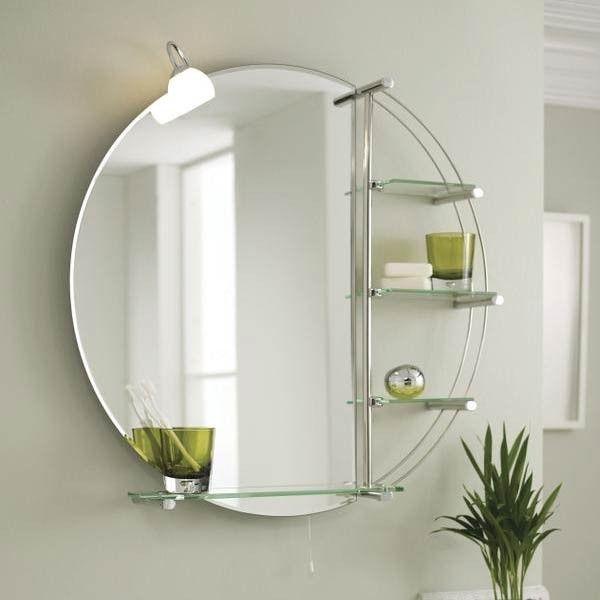 Premier Magnum Round Bathroom Mirror with Light | Kylpyhuone ...