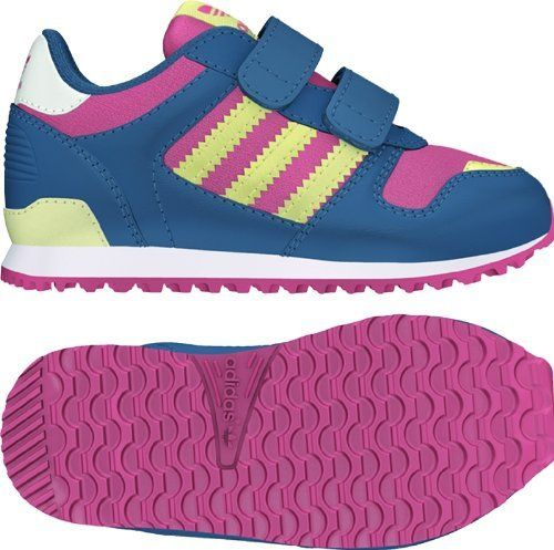5c861b33ef0d6 Adidas Shoes Kids Blue adidas ZX 700 CF I Infant   Toddlers Color  Bliss  Pink   Stone Wash Blue   Running White G95290 Rubber Brand New 100%  Authentic ...
