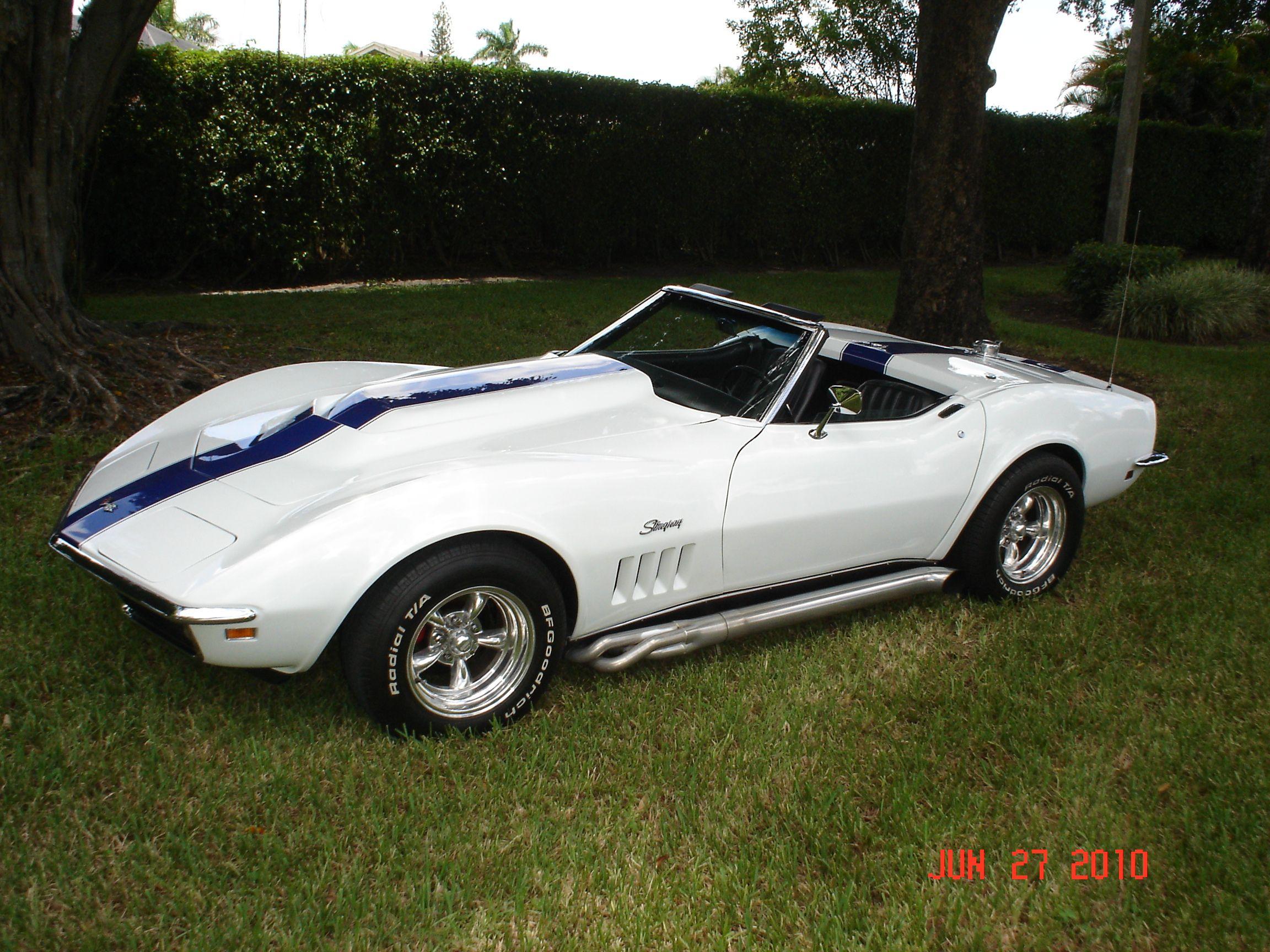 1000 images about 69 corvette stingray on pinterest chevy car - Corvette Stingray 1969 White