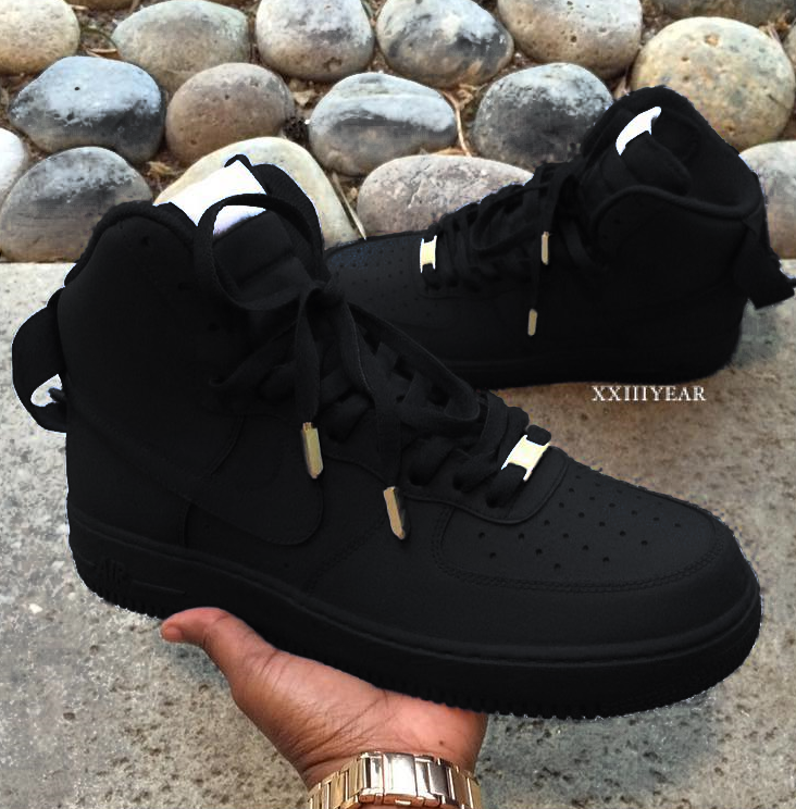 nike air force 1 noir mat