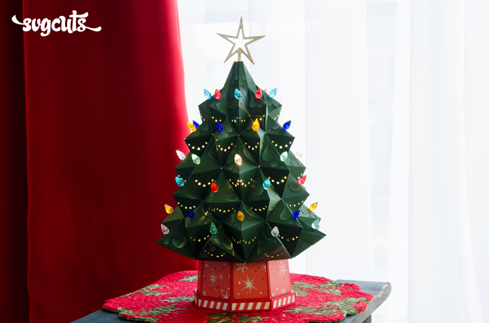 Heirloom Christmas Tree SVG Kit Tree svg, Svg files for