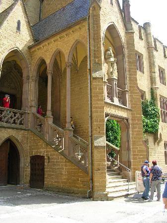 Castle Of Hohenzollern Hohenzollern Castle Castle Neuschwanstein Castle