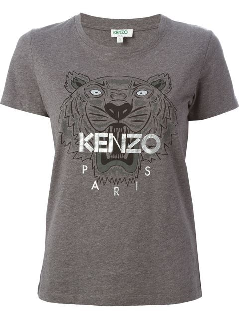 1ac99aecd Shop Kenzo 'Tiger' T-shirt in Vitkac from the world's best independent  boutiques at farfetch.com. Shop 300 boutiques at one address.