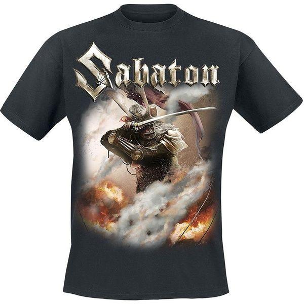 Photo of Sabaton Shiroyama T-Shirt schwarz Casual T-Shirts Herren O Neck New Brand Shirts Kurzarm Bedrucktes T-Shirt | Wunsch