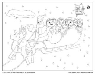 PBS KIDS Holiday Coloring Pages & Printables | Holidays ...